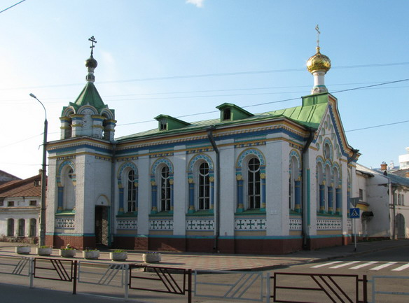 Церковь Николая Чудотворца. Архангельск. Фото