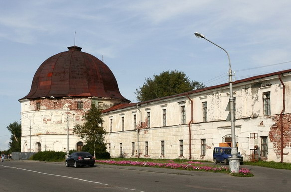 Гостиные дворы. Архангельск. Фото