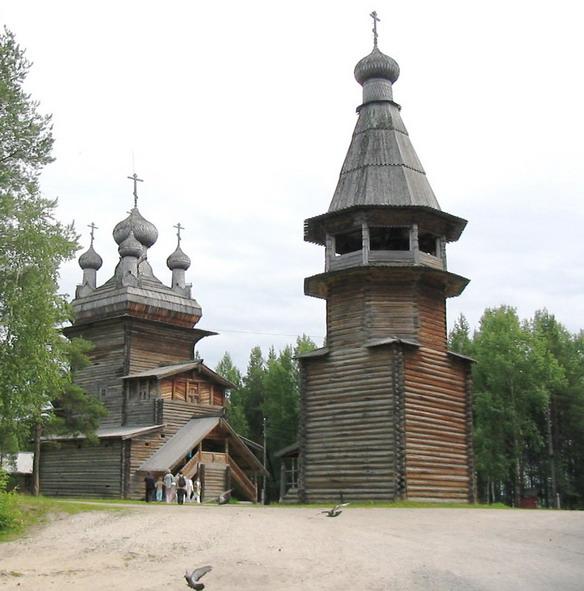 Музей деревянного зодчества Малые Корелы. Архангельск. Фото