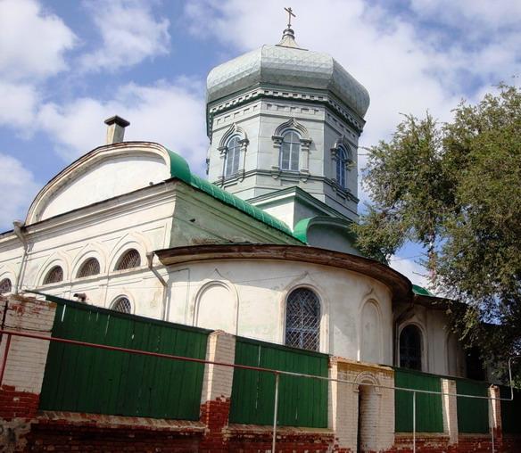 Старообрядческая церковь Рождества Христова. Астрахань. Фото