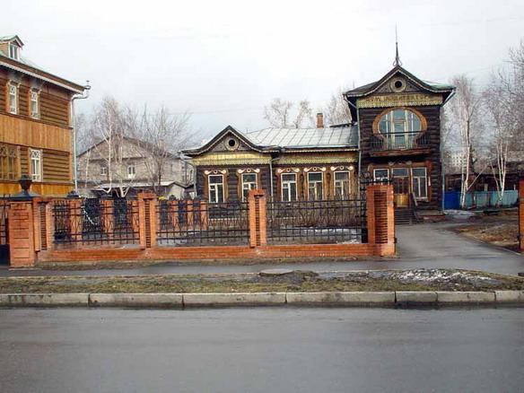 Дом архитектора. Барнаул. Фото