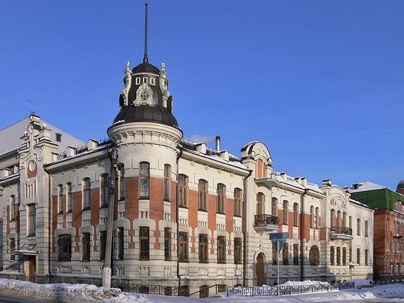 Дом Яковлева и Полякова. Барнаул. Фото