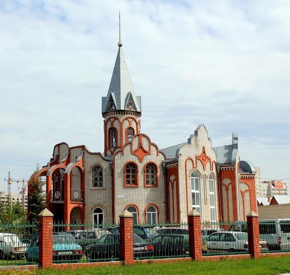 Дом молитвы Евангельских христиан-баптистов. Барнаул. Фото