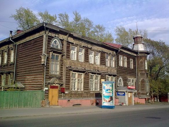 Гимназия Будкевич. Барнаул. Фото