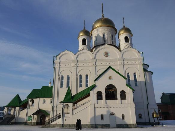 Храм Иоанна Богослова. Барнаул. Фото