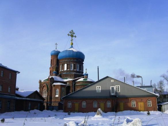 Храм Покрова Пресвятой Богородицы. Барнаул. Фото