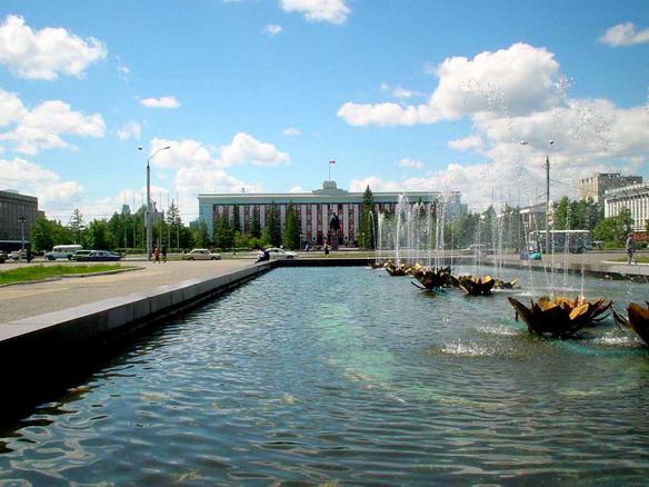 Площадь Советов. Барнаул. Фото