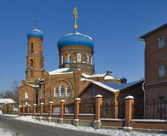 Покровский кафедральный собор. Барнаул. Фото