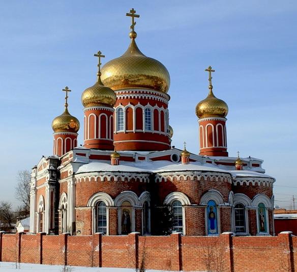 Знаменская церковь. Барнаул. Фото