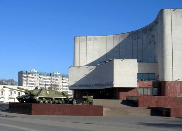 Музей-диорама Курская битва Белгородское направление. Белгород. Фото