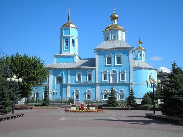 Смоленский собор. Белгород. Фото