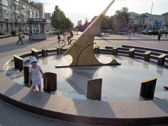 Солнечные часы. Белгород. Фото