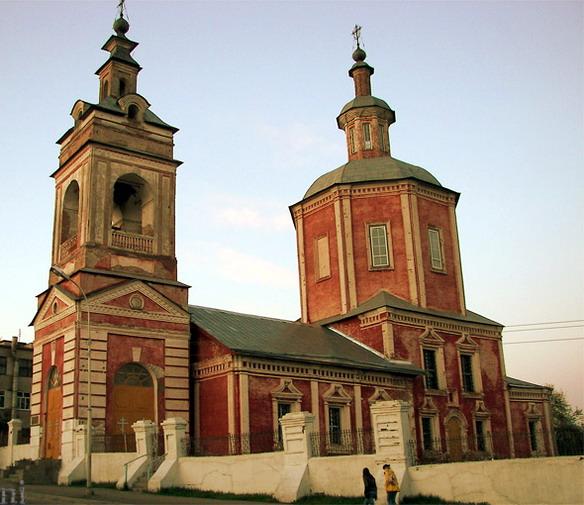 Горно-Никольская церковь. Брянск. Фото