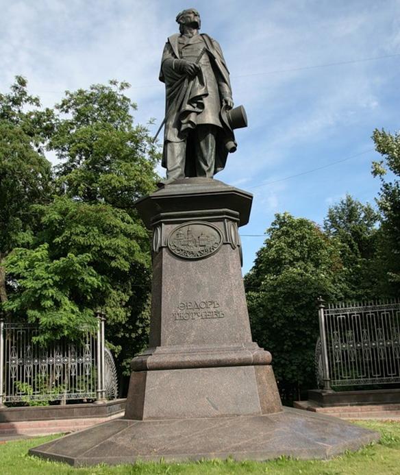 Памятник Ф.И.Тютчеву. Брянск. Фото