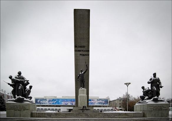 Площадь партизан. Брянск. Фото