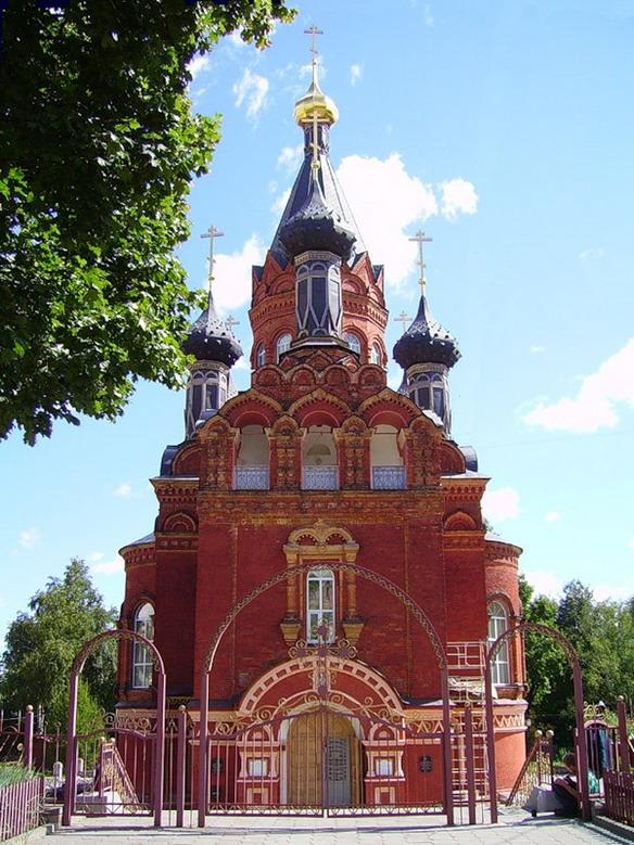 Спасо-Гробовская церковь. Брянск. Фото