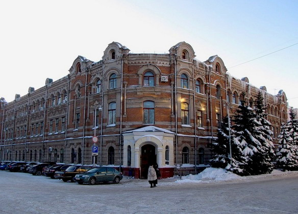 Женская гимназия. Брянск. Фото