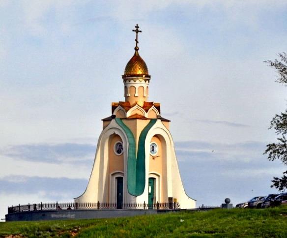Часовня Александра Невского. Чита. Фото