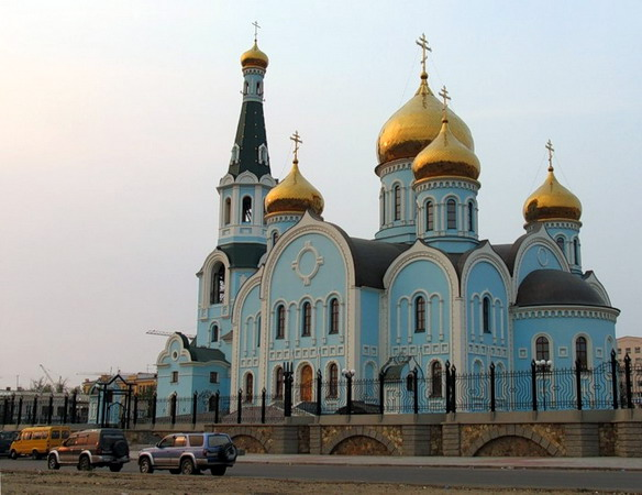 Казанский кафедральный собор. Чита. Фото