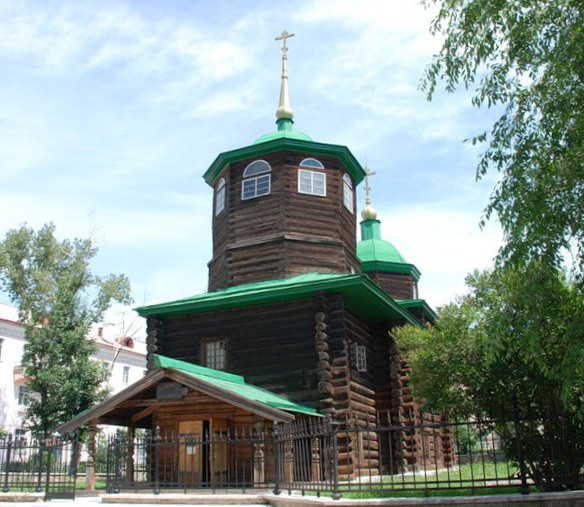 Музей Церковь декабристов. Чита. Фото