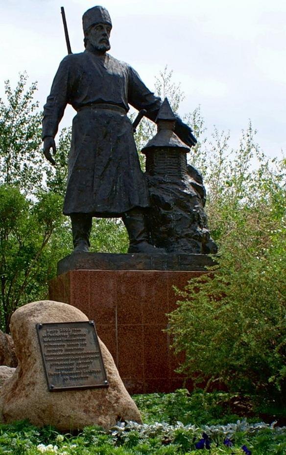 Памятник первопроходцам. Чита. Фото