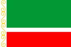 Чеченская Республика. Флаг