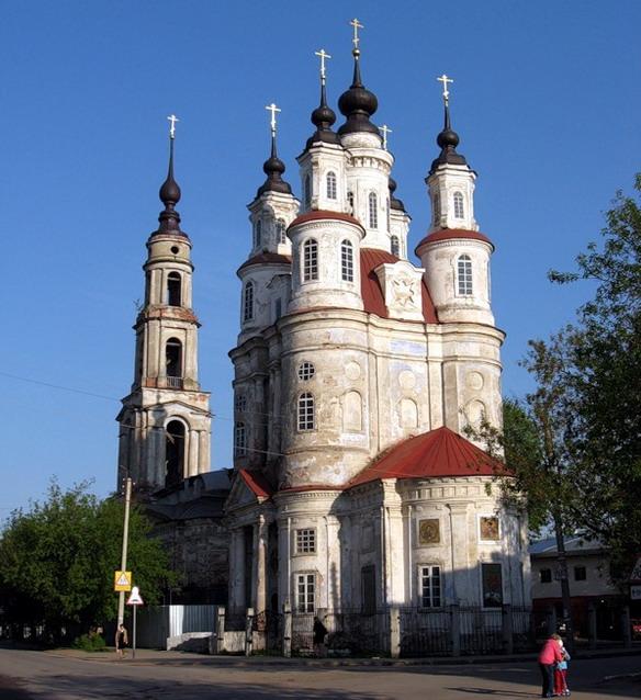 Церковь Космы и Дамиана. Калуга. Фото