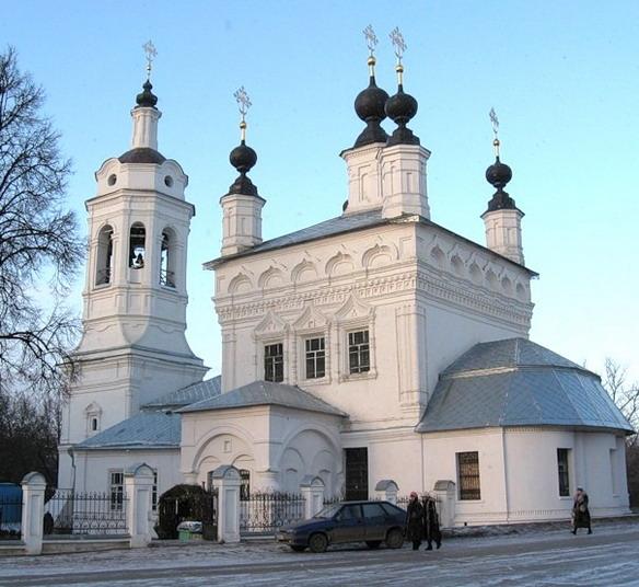 Церковь Покрова Пресвятой Богородицы на рву. Калуга. Фото