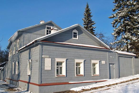 Дом-музей К.Э.Циолковского. Калуга. Фото