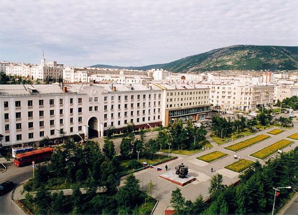 Магадан. Фото