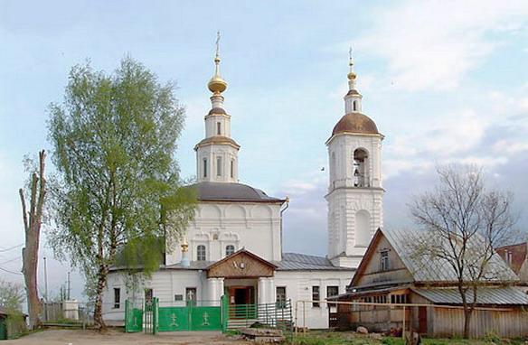 Храм Вознесения Господня. Владимир. Фото