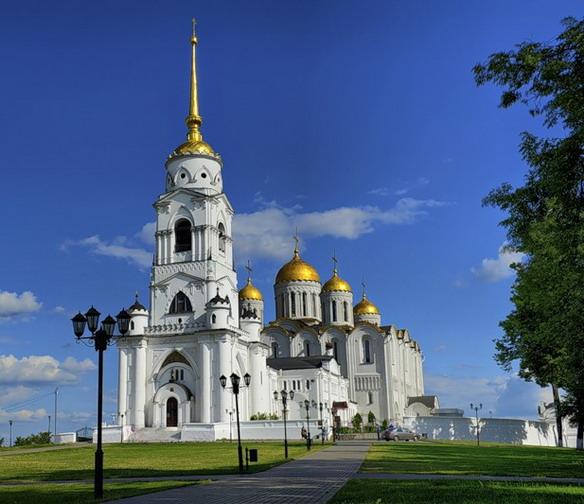 Кафедральный Успенский Собор. Владимир. Фото