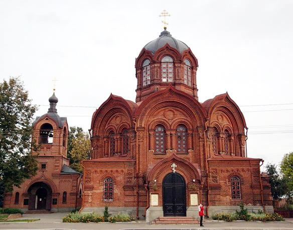Михаило-Архангельская церковь. Владимир. Фото