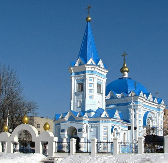 Свято-Константино-Еленинский храм. Владимир. Фото