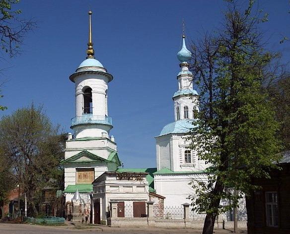 Свято-Троицкая церковь. Владимир. Фото