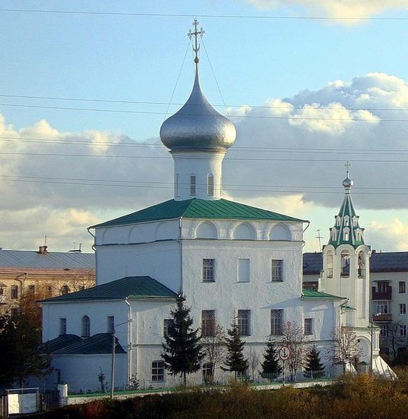 Церковь Андрея Первозванного во Фрязинове. Вологда. Фото