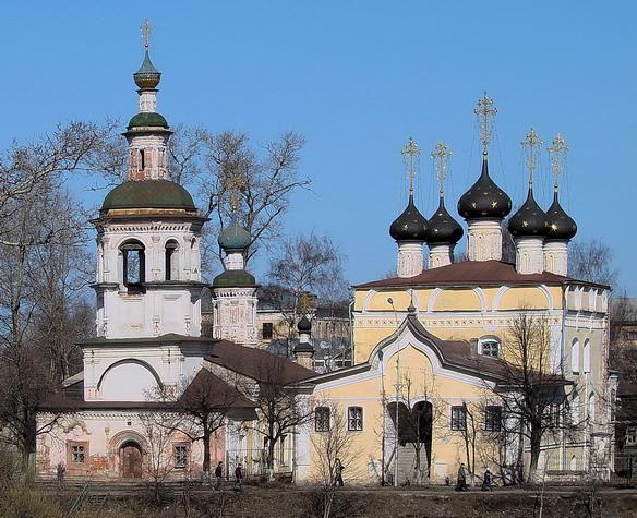 Церковь Дмитрия Прилуцкого на Наволоке. Вологда. Фото