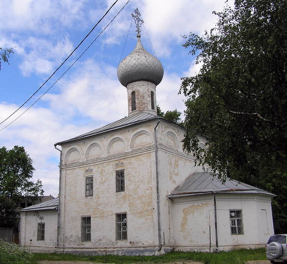Церковь Иоанна Богослова. Вологда. Фото