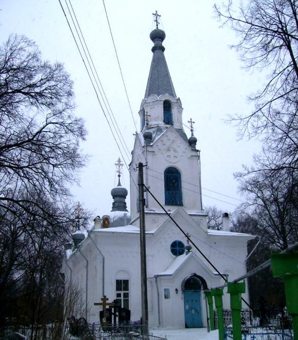 Церковь Леонтия Ростовского. Вологда. Фото