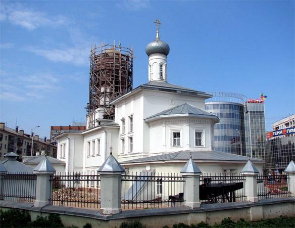 Церковь Николая Чудотворца на Глинках. Вологда. Фото