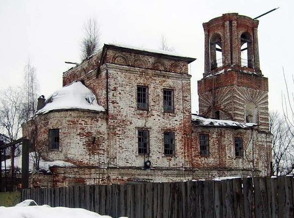 Церковь Николая Чудотворца на Горе «Золотые Кресты». Вологда. Фото