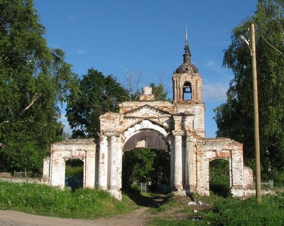 Церковь Николая Чудотворца на Валухе. Вологда. Фото