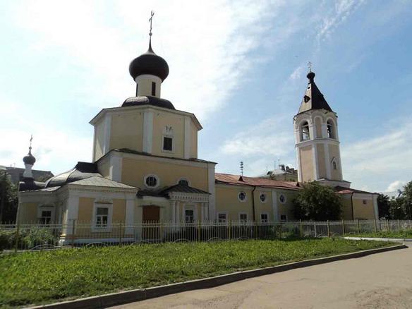 Церковь Покрова Богородицы на Козлёне. Вологда. Фото