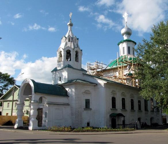 Церковь Рождества Богородицы на Нижнем Долу. Вологда. Фото