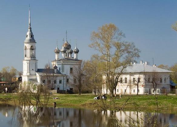 Церковь Сретения Господня. Вологда. Фото