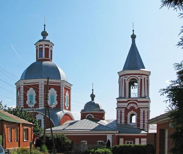 Ильинская церковь. Воронеж. Фото