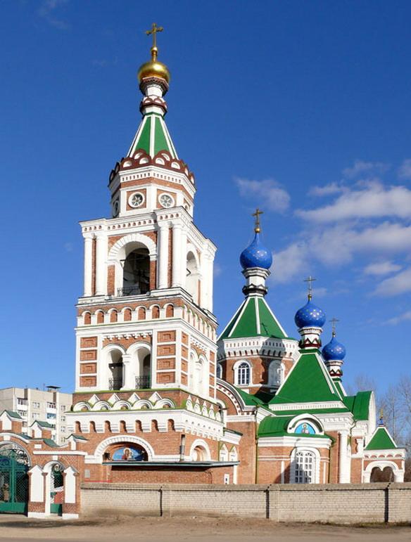 Казанская церковь. Воронеж. Фото