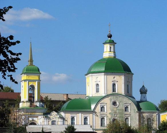 Воскресенская церковь. Воронеж. Фото