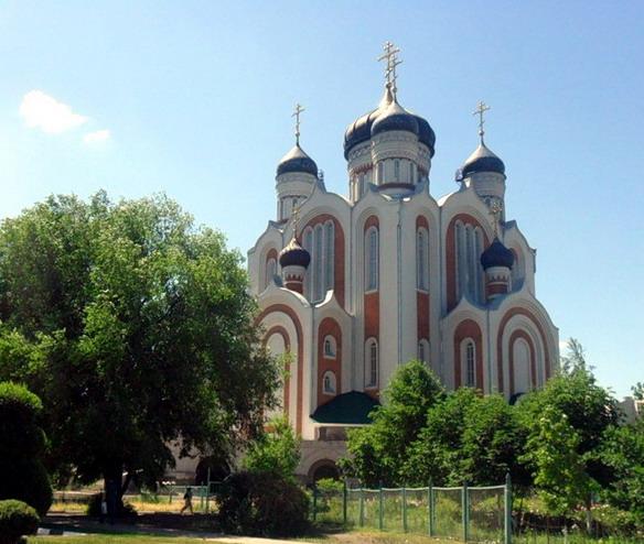 Всехсвятская церковь. Воронеж. Фото
